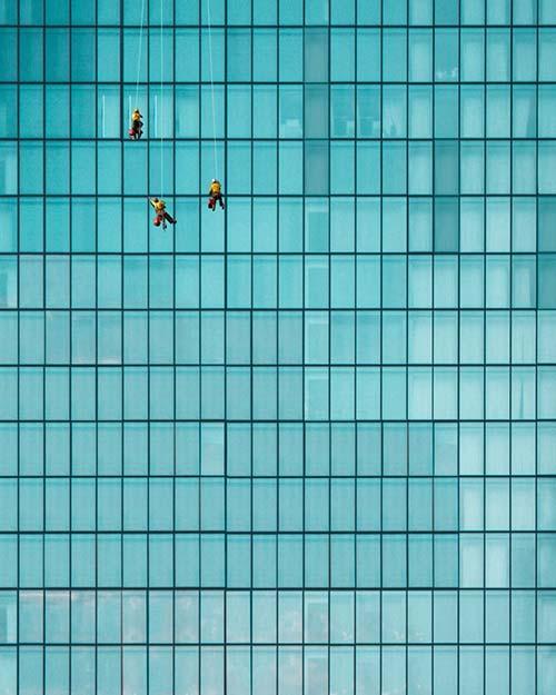 alpinistyczne mycie okien warszawa